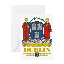 Dublin COA (Flag 10) Greeting Card