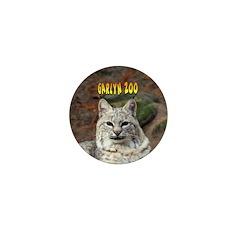 Bobcat Mini Button (100 pack)