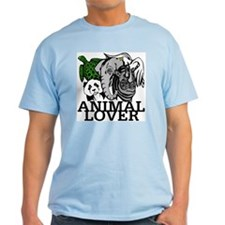 Animal Lover Collage T-Shirt