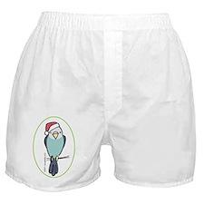 parakeet_blue_orn Boxer Shorts