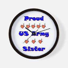 US Army Sister Wall Clock