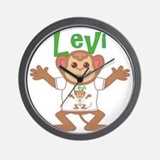 levi-b-monkey Wall Clock