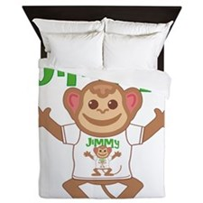 jimmy-b-monkey Queen Duvet