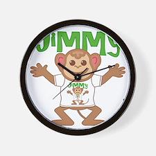 jimmy-b-monkey Wall Clock