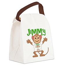 jimmy-b-monkey Canvas Lunch Bag