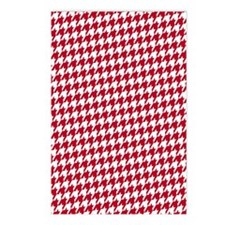 Crimson  White Postcards (Package of 8)