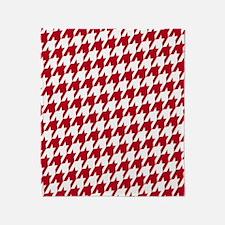 Crimson  White_big Throw Blanket