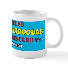 My rescued goldendoodle 2 Mug