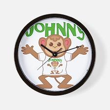 johnny-b-monkey Wall Clock