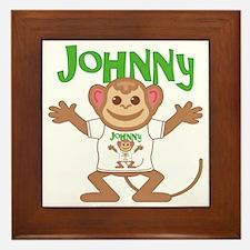 johnny-b-monkey Framed Tile