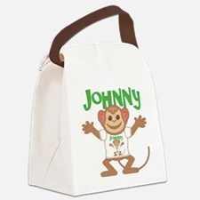 johnny-b-monkey Canvas Lunch Bag