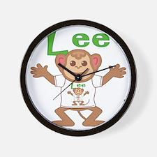 lee-b-monkey Wall Clock