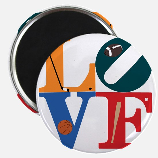Philly Sports Love Magnet