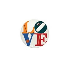 Philly Sports Love Mini Button