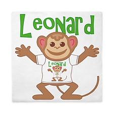 leonard-b-monkey Queen Duvet