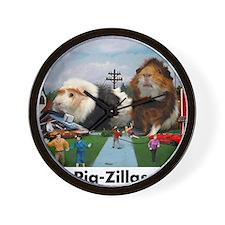 pigZillasBig Wall Clock