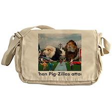 pigZillasBig Messenger Bag