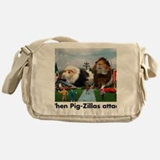 pigZillasBig Messenger Bag