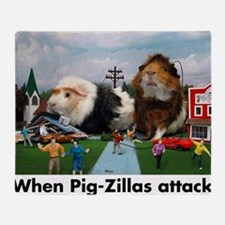 pigZillasBig Throw Blanket
