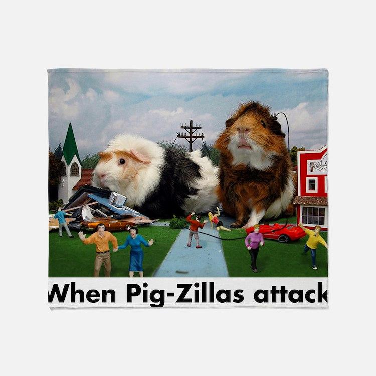 pigZillasBig Throw Blanket