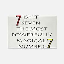 seven Rectangle Magnet