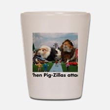 pigZillasBig Shot Glass