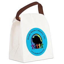 circlebumper2.25 Canvas Lunch Bag
