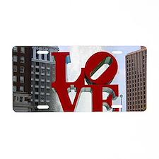 7780 Love Aluminum License Plate