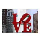 Philadelphia love park Postcards