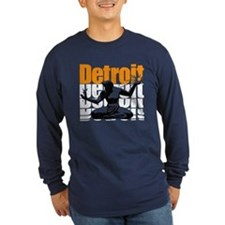 Vintage 80s DETROIT (Distressed Design) T