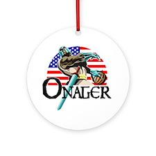 Onager Team USA - lg1 Round Ornament