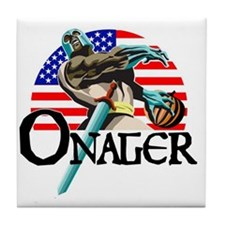 Onager Team USA - lg1 Tile Coaster