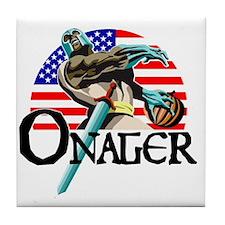Onager Team USA - lg3 Tile Coaster