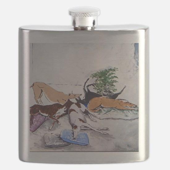 Hound Nap 1 blanket Flask