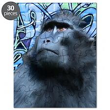 Card-Black-Macaque Puzzle