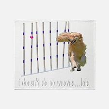 WEAVESmerge2bigM Throw Blanket