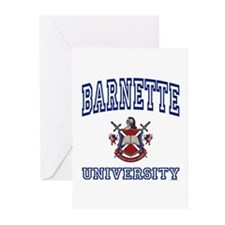 BARNETTE University Greeting Cards (Pk of 10)