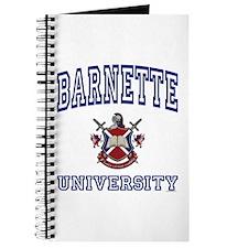 BARNETTE University Journal
