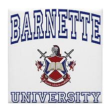 BARNETTE University Tile Coaster