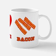 Peace Love Bacon Mug