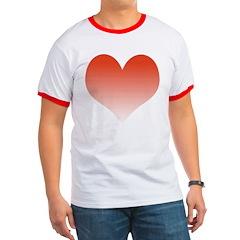 Faded Heart T