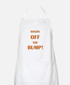 Hands off the bump BBQ Apron