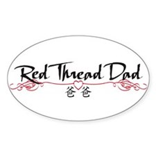 RedThreadDadBS Decal