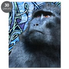 Black Macaque Journal Puzzle