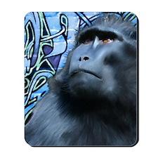 Black Macaque Journal Mousepad