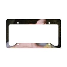 changepursewoman License Plate Holder