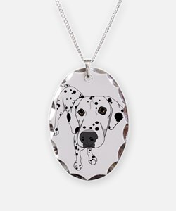 Dalmatian sm bowl Necklace