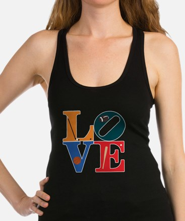Philly Sports Love Racerback Tank Top