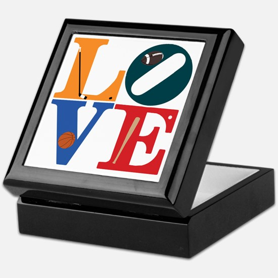 Philly Sports Love Keepsake Box