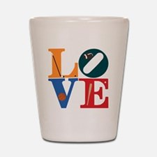 Philly Sports Love Shot Glass
